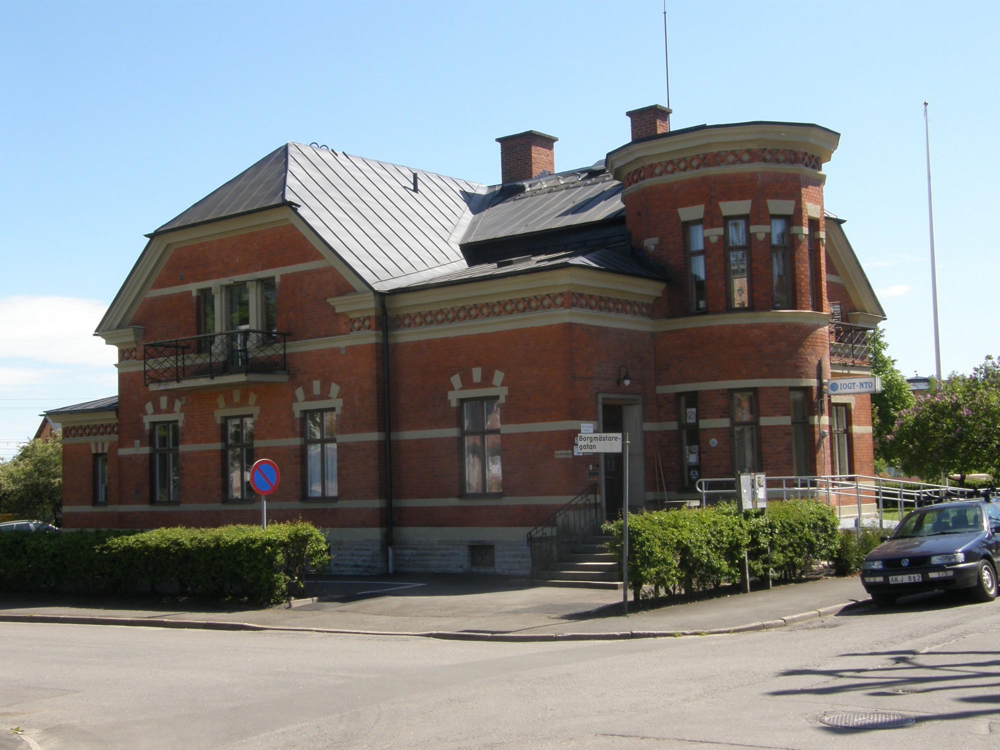 Godtemplargården, Drottninggatan 13 Skövde