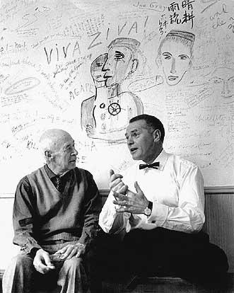 Henry Miller och Olle Länsberg